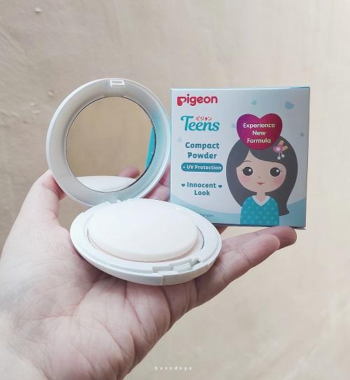 Compact powder untuk remaja