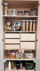 Snack Cabinet - After