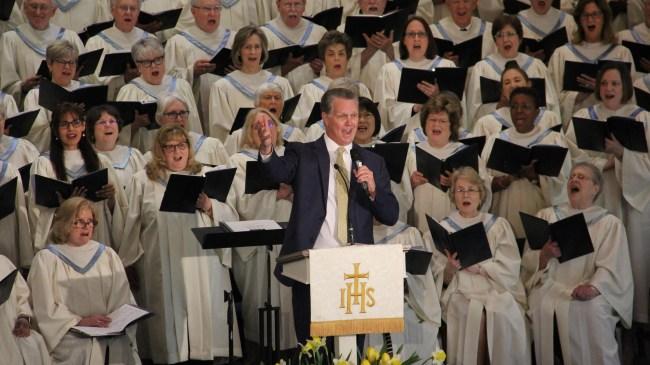 Bon Air Baptist Church Buford Road Sanctuary Choir