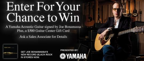 Bonamassa Guitar Center Contest
