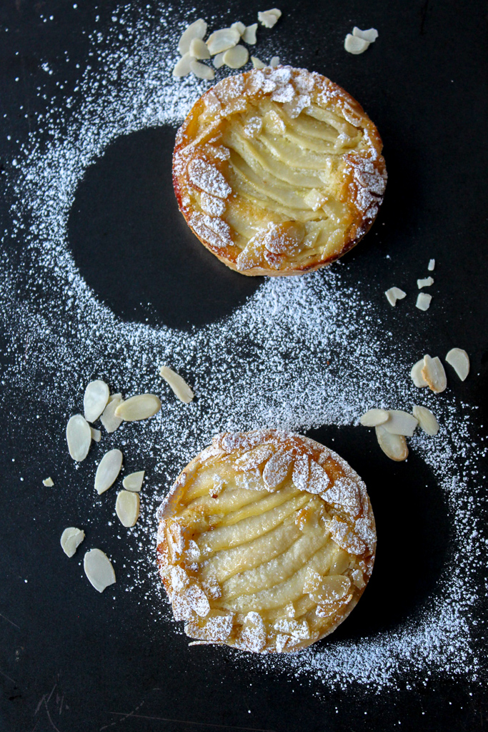 French Almond Pear tart