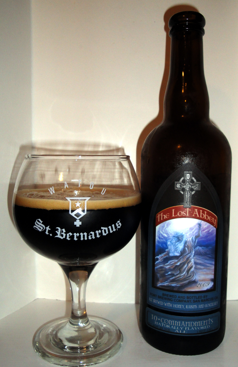 Beer 73 Lost Abbey 10 Commandments Bon Beer Voyage