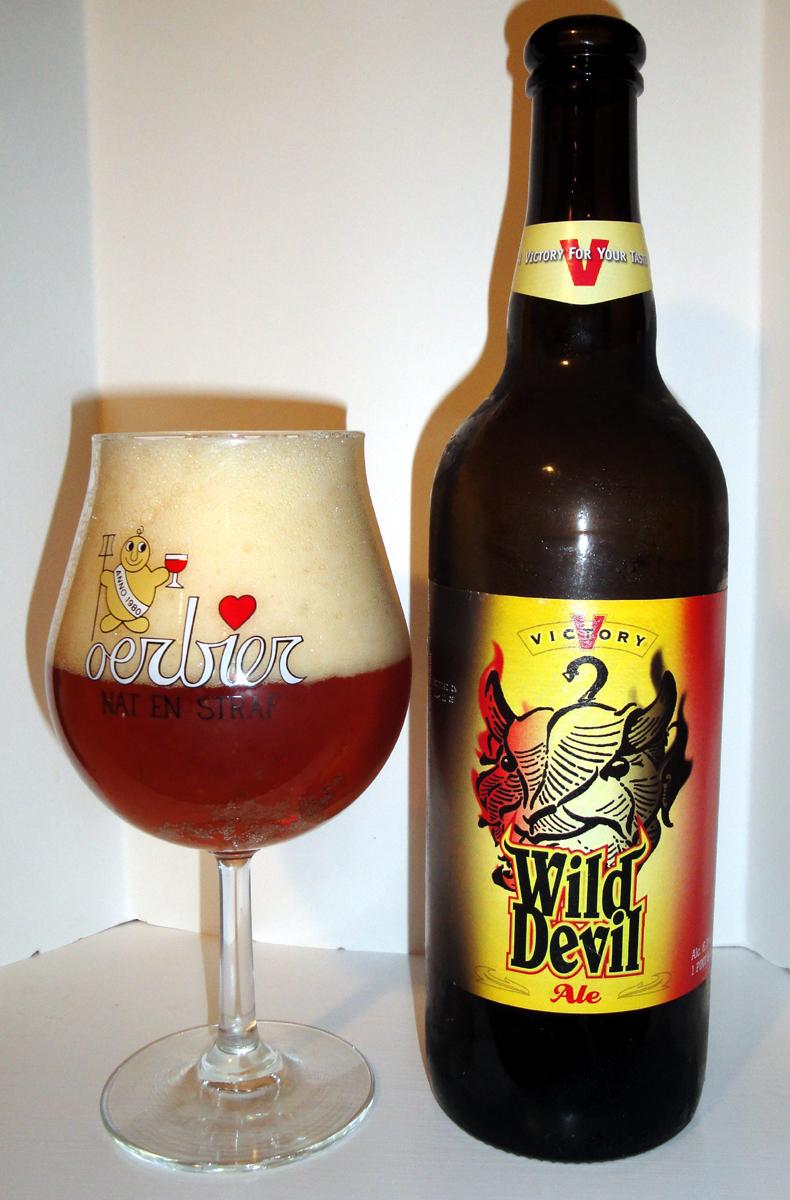 Beer 93 Victory Wild Devil Bon Beer Voyage