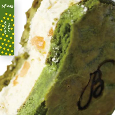 Cream Sandies no46 ゆず抹茶