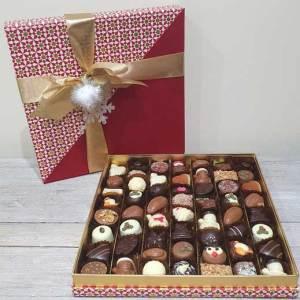buy christmas chocolates from bon Chocolat Holmfirth, West Yorkshire