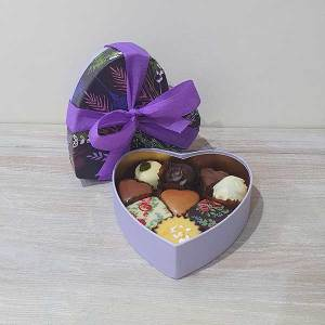 Small Floral Heart Box