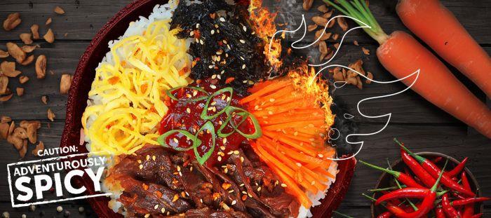 Bonchon Fiery Spice Bibimbowl Banner