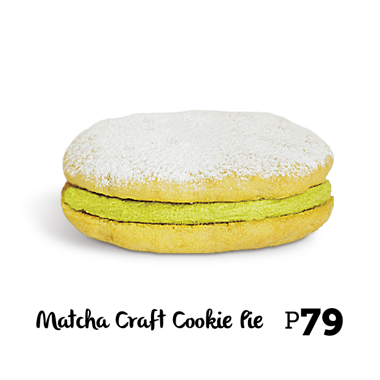 Bonchon Matcha Craft Cookie Pie