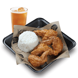 Bonchon 2pc Wings Boxed Meal