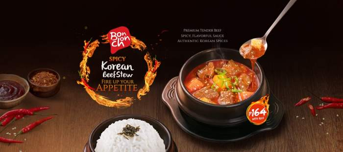 Spicy Beef Stew Banner