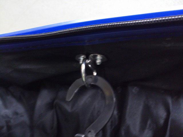 (somsonite)サムソナイト/スーツケースにハンガーフックカスタム