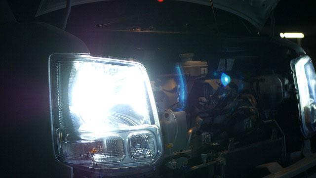(DA17V)エブリィバン / LEDヘッドライトの点灯確認