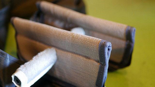 (camicia sportiva+)カミーチャスポルティバプラス/キャディバッグのセパレーターを代替の撥水生地で作製