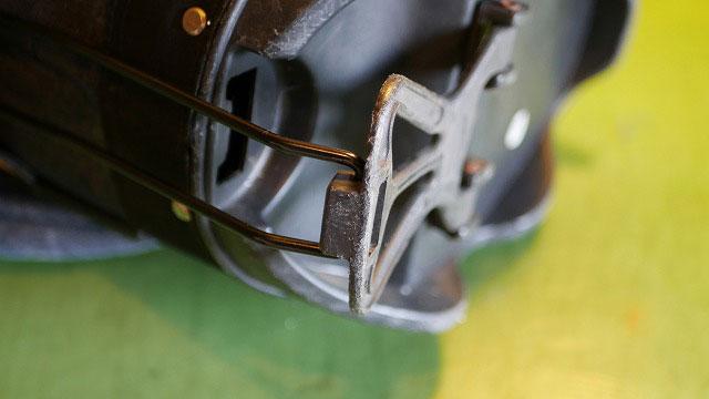 (EVISU)エヴィス/スタンドキャディバッグの上下を繋ぐ鉄の棒交換