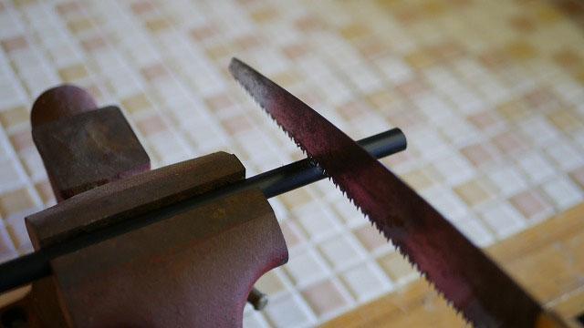 (SRIXON)スリクソン/ゴルフバッグの仕切り棒の切断