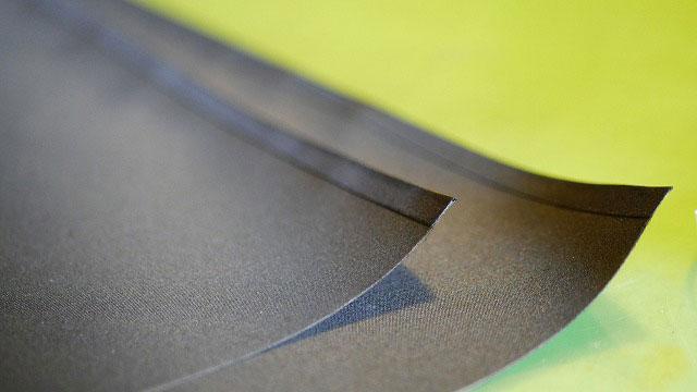 (JONES×BEAMS)ジョーンズ×ビームス/ゴルフバッグのセパレーターに繋ぐ仕切り布を作製