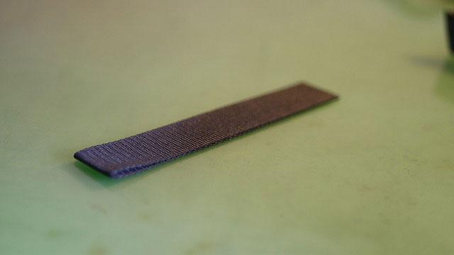 (ZIPANG STUDIO)琉球ゴルフ/キャディバッグのハンドルを固定するベルトの芯材