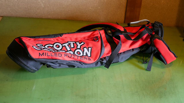 (SCOTTYCAMERON)スコッティーキャメロン/クラブケースをセルフスタンドバッグに改造する