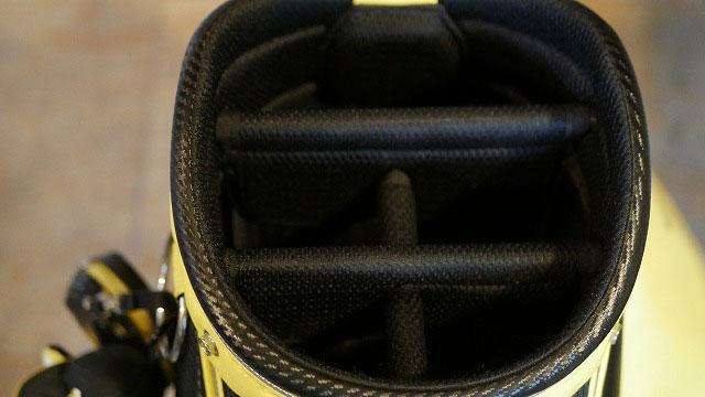 (BRIDGESTONE)ブリヂストン/ゴルフバッグの仕切り折れを修理