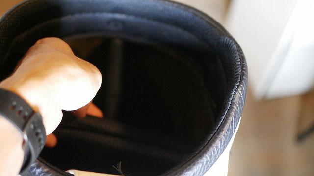 (MIZUNO THE OPEN)ミズノ ジオープン/キャディバッグのセパレーターを解体する