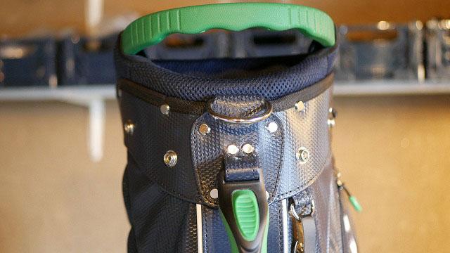 (Munsingwear)マンシングウェア/キャディバッグの外れたハンドルベルトを修理