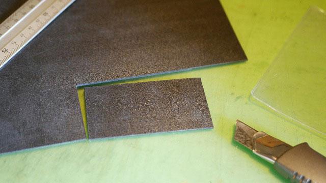(BRIEFING)ブリーフィング/ゴルフバッグのカシメ穴補強に使用する樹脂板
