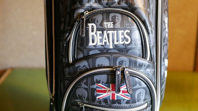 (Admiral)アドミラル/(The BEATLES)ビートルズ来日50周年記念コラボモデルキャディバッグ