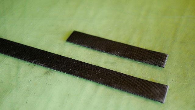(TUMI)トゥミ/キャディバッグの新しく作製する持ち手の芯材