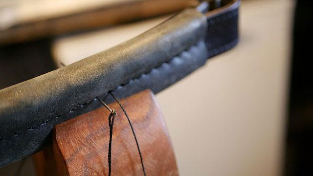 (TUMI)トゥミ/キャディバッグの持ち手グリップ部分の再縫製