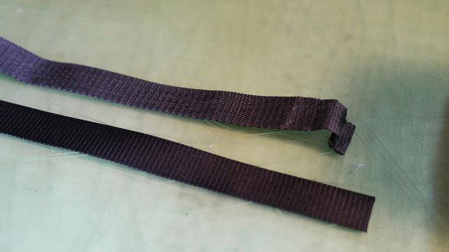 (SCUBAPRO)スキューバプロ/ダイビング機材キャリーケースの外装ベルトを新しく取替