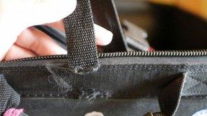 (SCUBAPRO)スキューバプロ/ダイビング機材キャリーケースの外装ベルト切れ