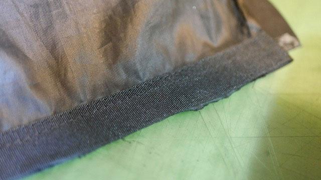 (VIVA HEART)ビバハート/キャディバッグの仕切り布を補強再縫製