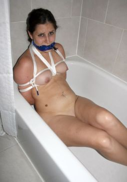 Cute Girlfriend Cleave Gagged, Bound and Humiliated by Her Boyfriend