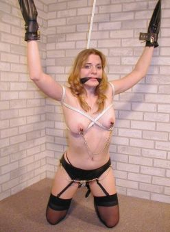 Gorgeous Girlfriend Gets Restrained and Disciplined by Her Boyfriend