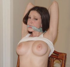 Gorgeous Young Girlfriend Gets Tightly Bound, Stripped and Disciplined