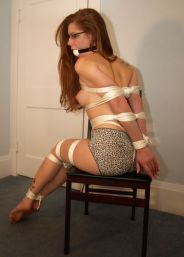 Stacie Snow Tightly Bound and Punished Hard at Home for Fun