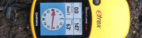 Garmin E-trex HC GPS Detektor