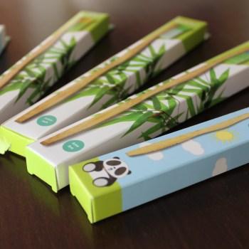 As mais bonitas e as únicas escovas de dentes amigas do ambiente