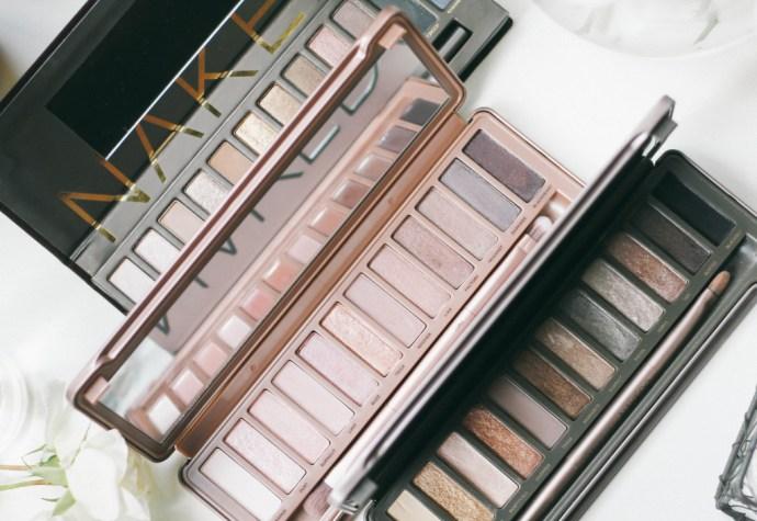 Urban Decay Naked Palettes Comparison | BondGirlGlam.com