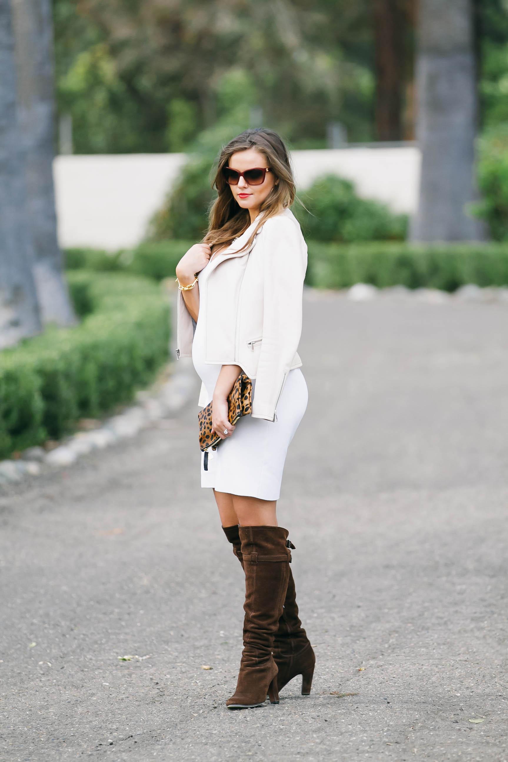 White dress boots -  Bumpstyle Little White Dress Boots Bondgirlglam Com