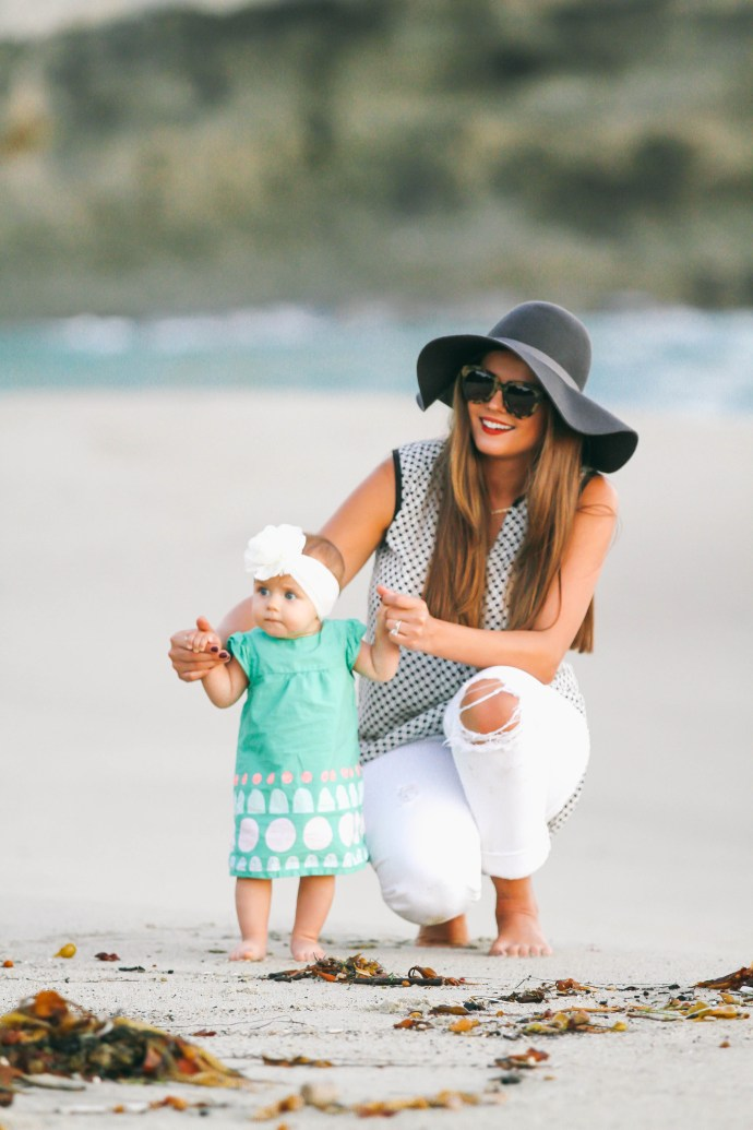 Family #OOTD // Laguna Beach Sunset | BondGirlGlam.com