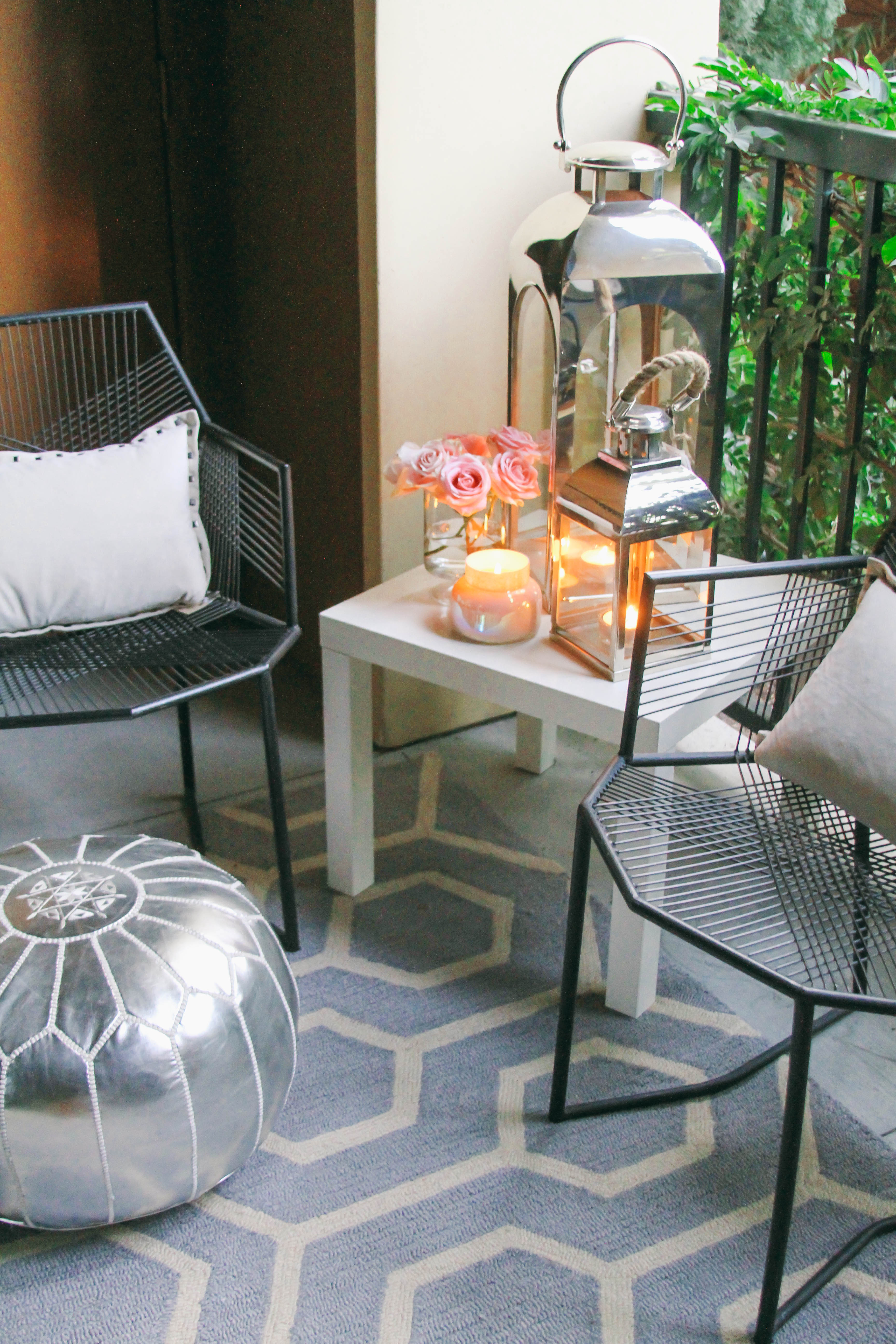 Apartment patio decorating ideas pictures. small outdoor decor ...