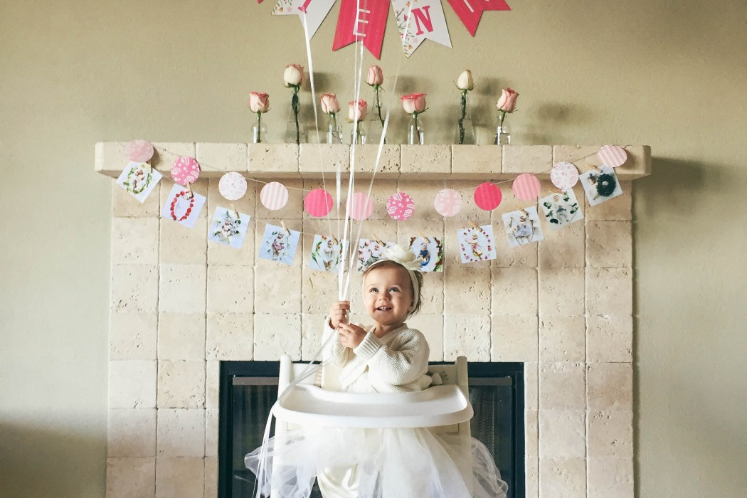 Vienna's First Birthday Party | BondGirlGlam.com