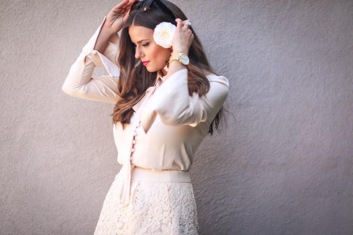 #OOTD // Camellia In Her Hair | BondGirlGlam.com