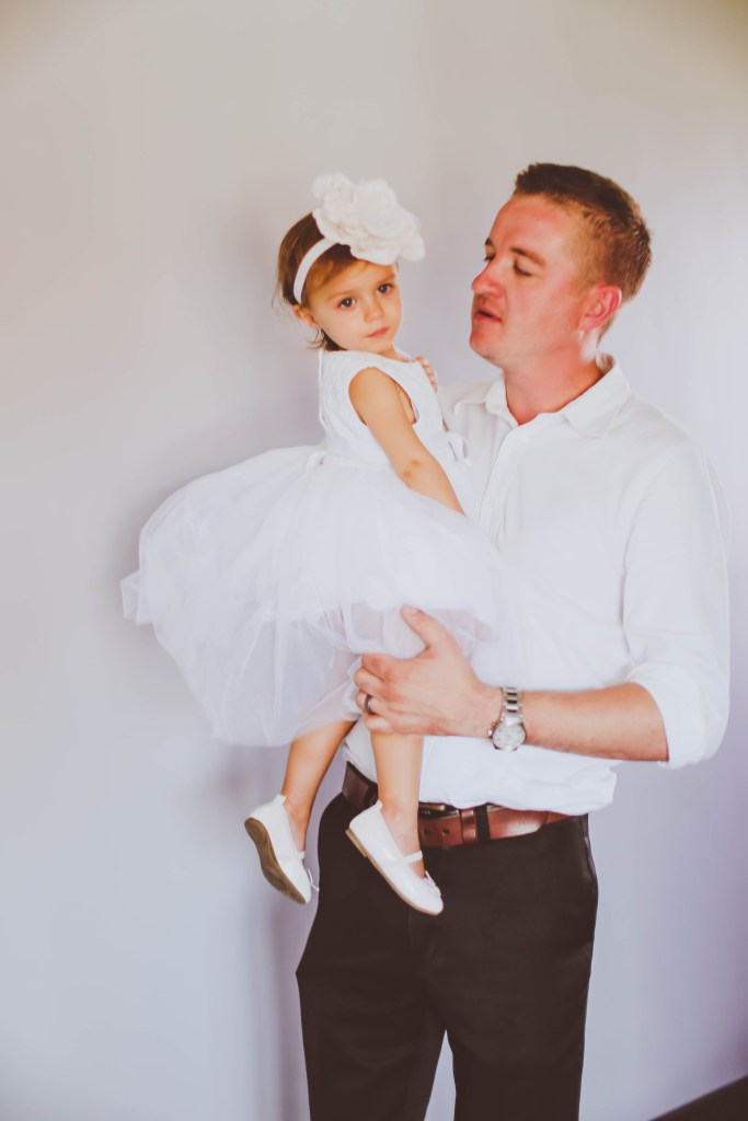 flower girl, wedding guest, daddy and daughter