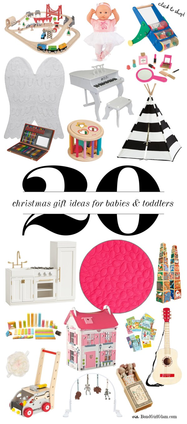 Gift Ideas for Babies & Toddlers | BondGirlGlam.com