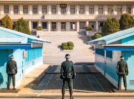 North/South Korea Border Guard