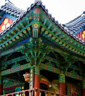 Korea, Bongeunsa Temple