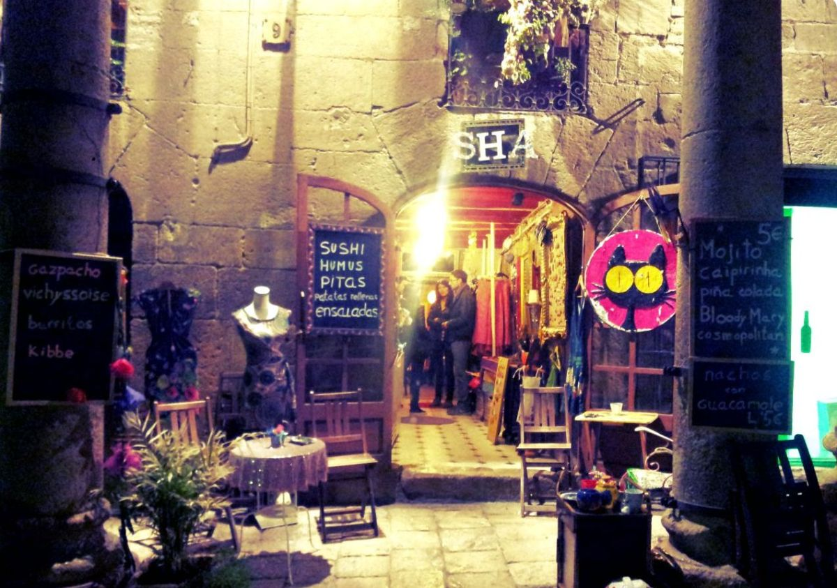 Sha, (te) gekke bar in hartje Tarragona