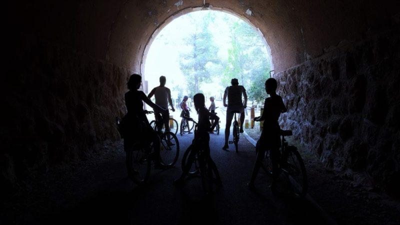 via verde fietsen